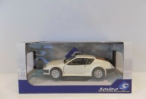 SOLIDO ALPINE A310 PACK GT BLANC NACRE MINT BOXED 1:18