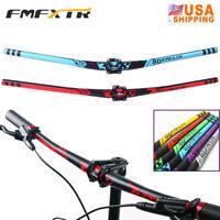 XC/DH Bike 31.8*780mm Riser Bar 50mm Short Stem Aluminum MTB Bike Handlebar Stem