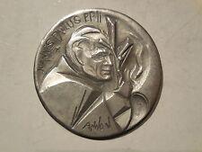 Vaticano medaglia papa Giovanni paolo II anno V fatima argento
