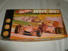 VINTAGE BOXED HOT WHEELS WIPE-OUT RACE GAME MATTEL TOYMAKERS 1968 COMPLETE 5439