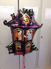 "Halloween Haunted House 30"" Foil Balloon Shape Anagram Fantastic Party Dec"