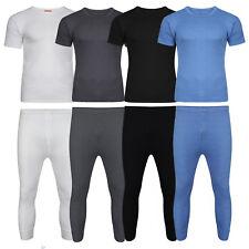 Mens Thermals Thermal T-shirt Long Sleeve Long Johns Underwear Winter Warm New