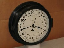 New listing Chelsea U.S. Air Force Clock ~8 1/2 In~1954~Missile Silo?~24 hr.Dial~Restored