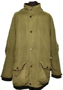 BARBOUR T1 BERWICK ENDURANCE BREATHABLES JACKET XL GREEN HOODED