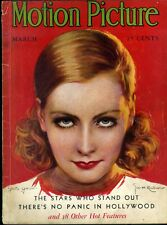 MOTION PICTURE magazine • Mar. 1931 • GRETA GARBO cover by JOSE M. RECODER