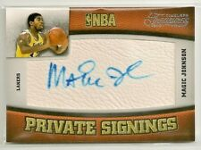 Magic Johnson 2009-10 Timeless Treasures Private Signings Auto #d 23/25 - LAKERS