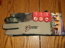 "Mossy Oak Camo ""The 3 Legends"" Professional Insulated Fishing Gloves L/XL New"