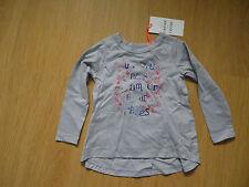 Tunique tee shirt fille MARESE en 3 ans gris bleu rouge papillons NEUF étiquette