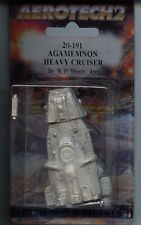 Battletech Aerotech 2 Agamemnon Heavy Cruiser MINT Iron Wind Metals