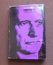 PHILOSOPHY volume 3 - Karl Jaspers -1st 1971 Chicago Ashton HCDJ metaphysics