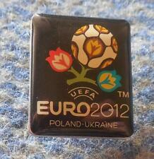UEFA EURO EUROPEAN CHAMPIONSHIP POLAND UKRAINE 2012 FOOTBALL SOCCER PIN BADGE