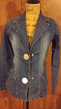 women's denim jacket size small Paris blues brand