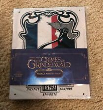 Loot Crate Wizarding World French Ministry Tin Sign Fantastic Beasts HarryPotter