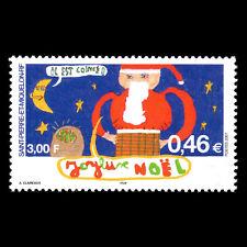 SPM 2001 - Christmas - Sc 717 MNH