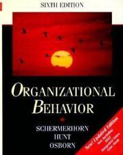 Organizational Behavior by Richard N. Osborn, James G. Hunt and John R. Schermer