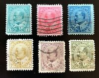Canada Stamps. SC 89-94. 1903. Used. **COMBINED SHIPPING**