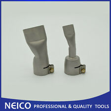 2PCS Welding Nozzles For Leister / Bak Hot Air Heat Gun ,20mm & 40mm Flat Nozzle