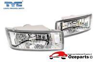 Set Pair LH+RH Fog Light Spot Driving Bumper Lamp For Holden Rodeo RA 03~06