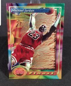 1993-94 Topps Finest Michael Jordan #1 Chicago Bulls
