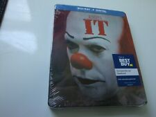 IT   *Steelbook*  Brand New* w/Dgital  *Original*  (Blu-Ray Disc )