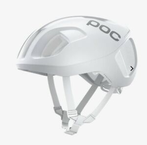POC Ventral Spin Hydrogen White Matt 50-56 Size Small 245 Grams Road Helmet NWT