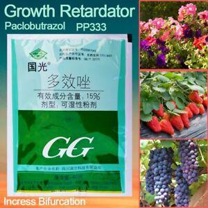 Paclobutrazol Bonsai Plant growth regulator Growing Delayed Aid Fertilizer 40g