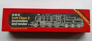 R857 Hornby Train B.R 2-6-0 Ivatt Class 2 Locomotive 46400 Boxed