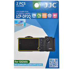 2x Film LCD Screen Display H3 Hard Protection for Sigma Quattro DP1 DP2 DP3