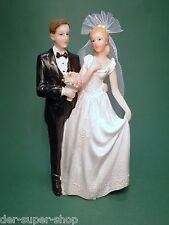 Hochzeit Tortenfigur Tortenaufsatz Tortendeko Brautpaar verschieden Figuren 16cm