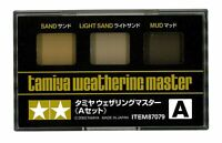 Tamiya Weathering Master A Set (87079) Sand Light Sand Mud