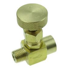 Brass needle valve  1/4