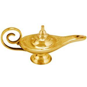 Orient Orientalische Aladdin Wunderlampe Öllampe Genielampe Messing Aladin Deko