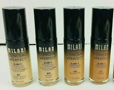 Milani Conceal + Perfect 2-in-1 Foundation + Concealer 1fl.oz./30ml Assorted