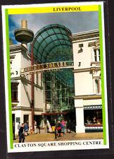 Unused  Postcard, Liverpool Clayton Square Shopping Centre
