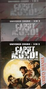 CAPUT MUNDI SERIE 2 II completa (albo nr 1+2+3) .ALMANACCO COSMO