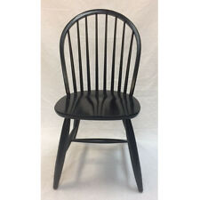 Windsor Wood Chair in Black