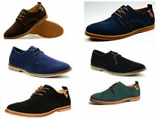 Unbranded Lace-up Suede Upper Shoes for Men