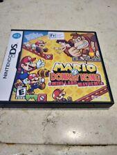 Mario VS Donkey Kong Mini Land Mayhem Nintendo DS Complete