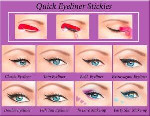 ORIGINAL Quick Eyeliner Stickies Make-up Sticker Eye Makeup Free Shipping US2