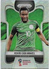 2018 Panini FIFA World Cup Silver Prizm (138) John Obi MIKEL Nigeria