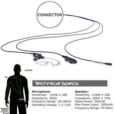 Impact MC1-P3W-AT1 Platinum 3-Wire Headset for M/A Com LPE200 + Prism Radios