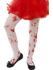 Enfant Tâches de Sang Collant Halloween Zombie Horreur Déguisement Fille