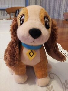 Disney Lady And The Tramp Plush Toy