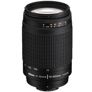 Nikon AF Zoom-NIKKOR 70-300mm f/4-5.6G F Mount Lens