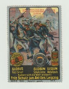 German- 1813-1913 Leipzig -Goblin larger poster stamp Very Clean NO gum