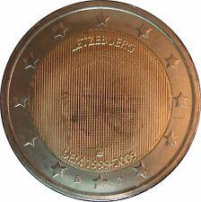 Luxemburg 2009 2€  10 Jahre WWU unz +gekapselt.