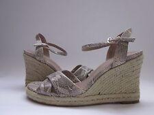 $188 NWD Cole Haan Air Camila Sandals 90 White Pine Snake Print Women's 10.5