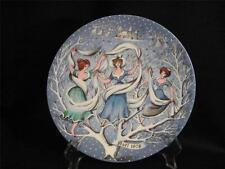 "Haviland Limoges 12 Days Of Christmas ""Nine Ladies Dancing"" Collector Plate"