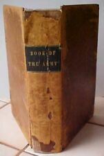 1845 BOOK OF THE ARMY OF THE UNITED STATES John Frost