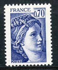STAMP / TIMBRE FRANCE NEUF N° 2056 ** TYPE SABINE